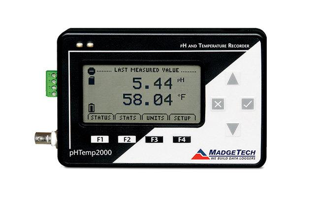 pHTemp2000 Data Logger