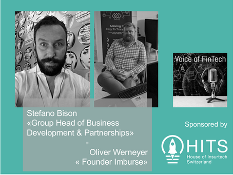 Interview Stefano Bison & Oliver Werneyer - Voice of FinTech Podcast sponsored by HITS