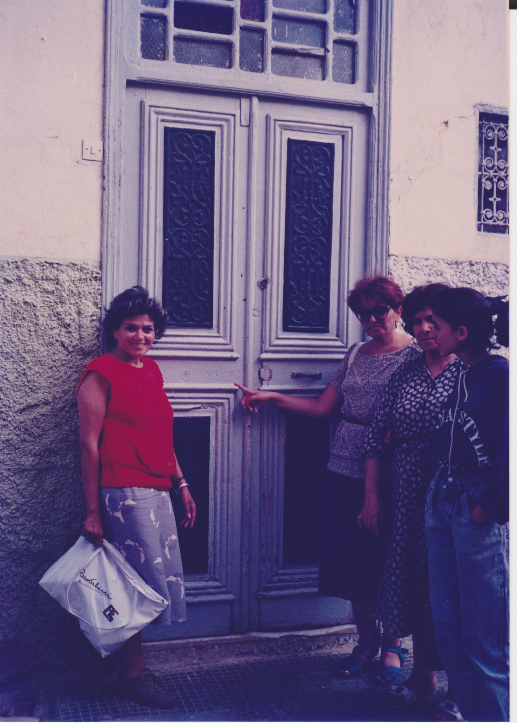 טיול שורשים הכניסה לבית במרוקו