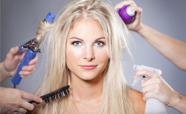 איך לטפל בשיער יבש