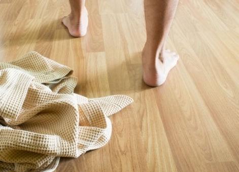 טיפול בכפות הרגליים