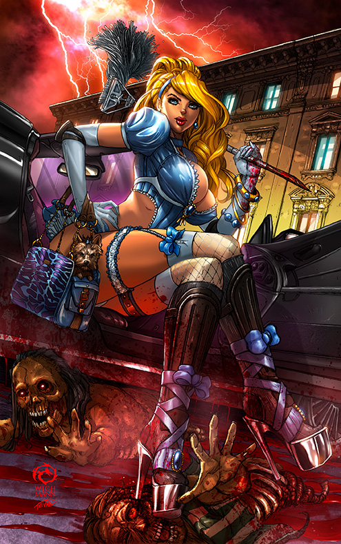 Princesses VS Zombies - Cindy