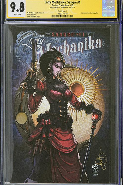 CGC 9.8 Lady Mechanika: Sangre #1 Jesse Wichmann Exclusive