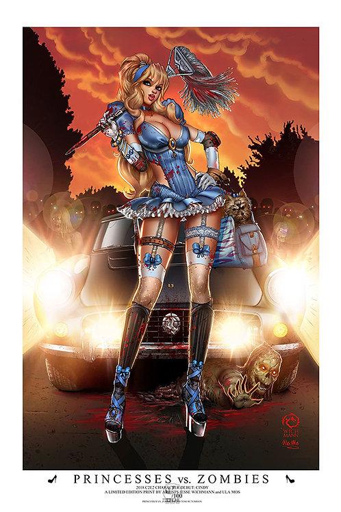 Princesses vs. Zombies - Cinderella