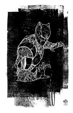 Black Panther Sketch 1