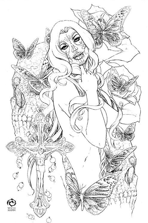 La Muerta #1 - Ascension Original Art