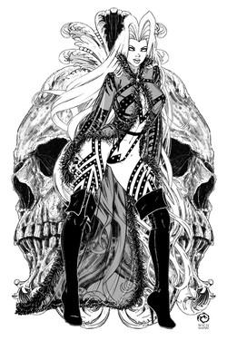 Lady Death Negligee