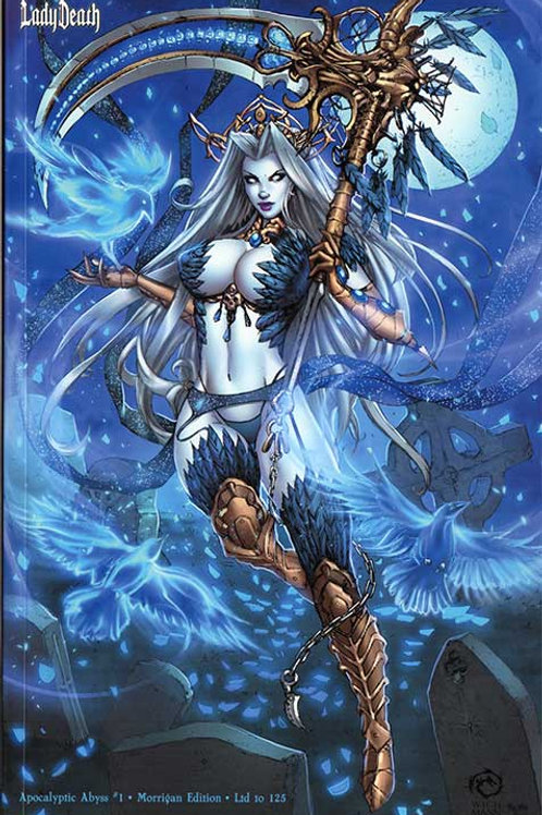 Lady Death Apocalyptic Abyss #1 - Morrigan Variant Lt 125