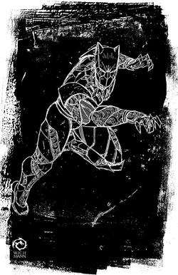 Black Panther Sketch 2