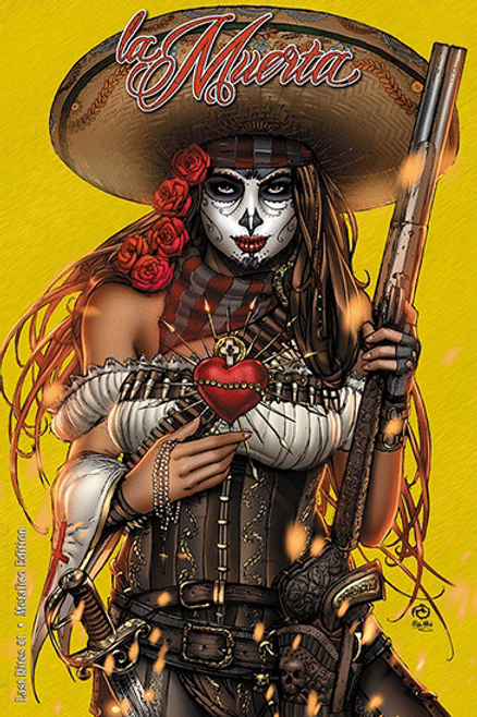 La Muerta - Last Rights #1 Metalico Artist Proof Edition