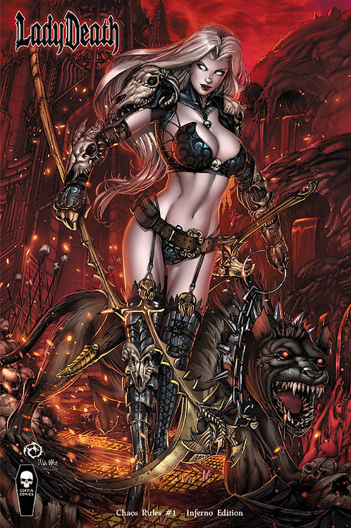 Lady Death Chaos Rules #1 - Inferno Edition
