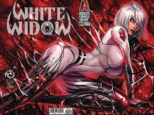 White Widow #4 Lenticular Exclusive