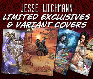 Shop limited edition Jesse Wichmann exclusive covers