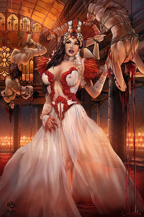 Ursa Minor: Sensual Lady Bathory Classic Art Print
