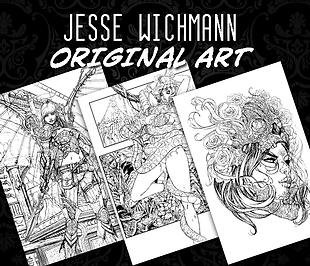 shop for jesse wichmann original art work