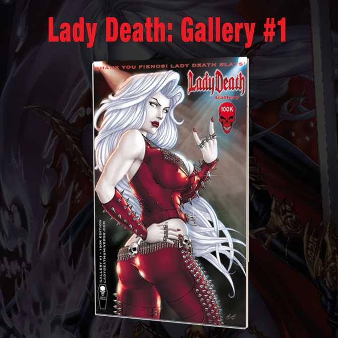 Lady Death Gallery #1 is now a 24-page book!