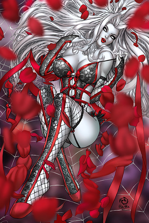 Lady Death Icon #1 - Artist Proof Metal Jeweled Edition