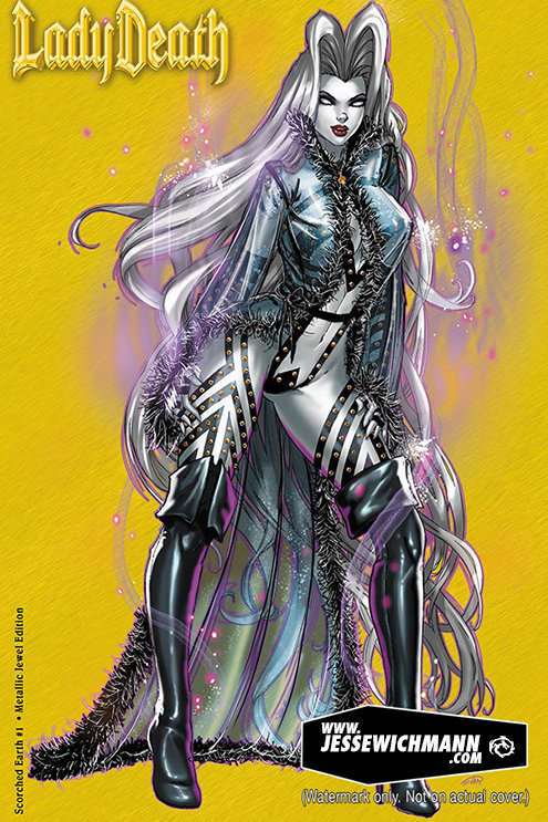 Lady Death: Scorched Earth #1 Metal Jewel Edition