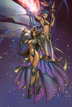 Soulfire and Witchblade