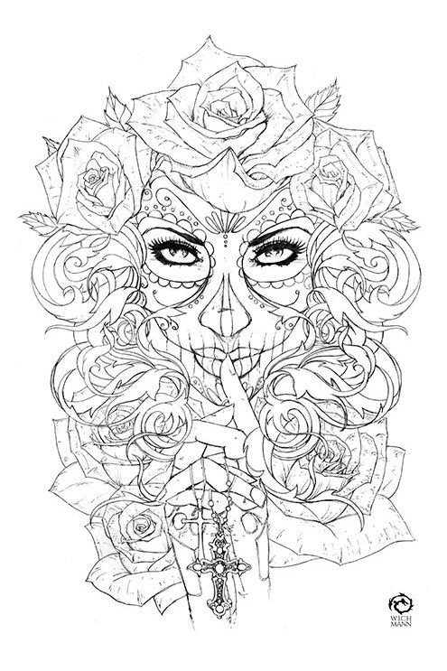 La Muerta #1 - Retribution Original Art