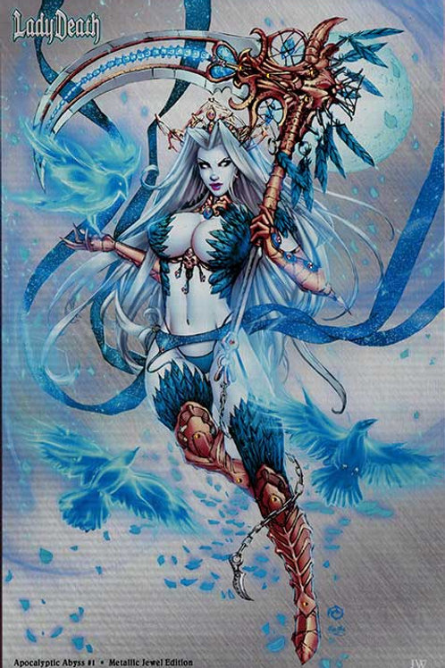 Lady Death: Apocalyptic Abyss #1 - Jeweled Metal Artist Proof Variant Set