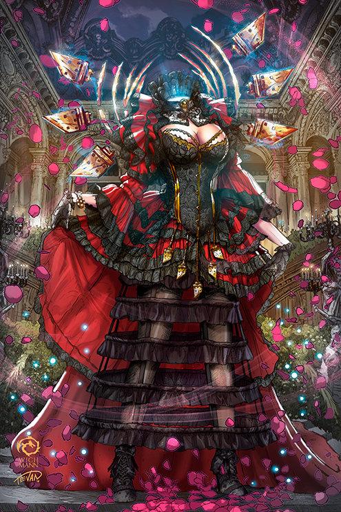 Antoinette #1 - Gothic Fetish Variant