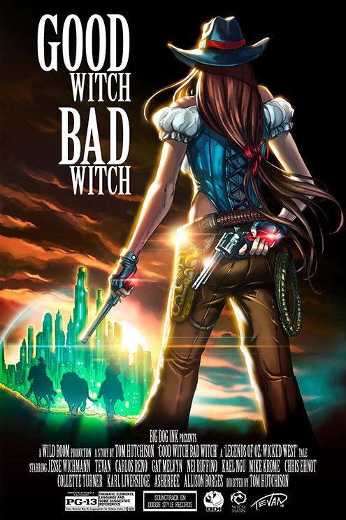 Legends of Oz: Wicked West Sundown Movie Poster Variant