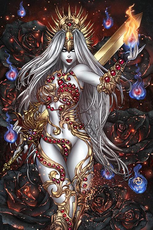 Lady Death: Phoenix Queen Museum Art Print