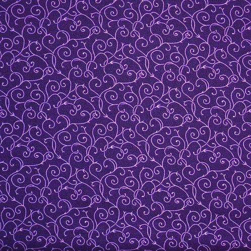 Heavy weight Purple swirls