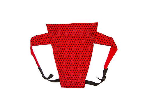 Red Polka-dot red back