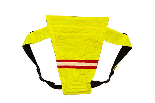 Construction Neon yellow and reflective tape