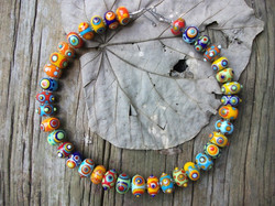 Beautiful flameworked beads