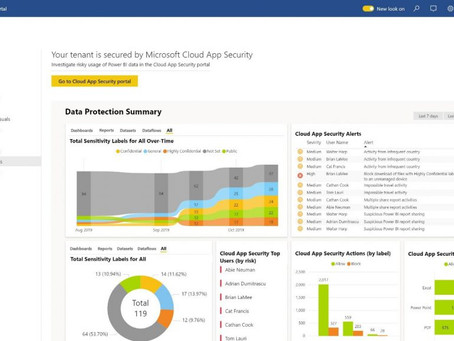 Weaving Business Intelligence into the fabric of the organization with Microsoft Power BI