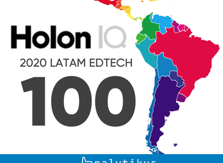 HolonIQ announced the first annual LATAM EdTech 100 list Latin America.