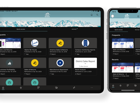 The theme you've been waiting for – Dark mode comes to the Power BI iOS app