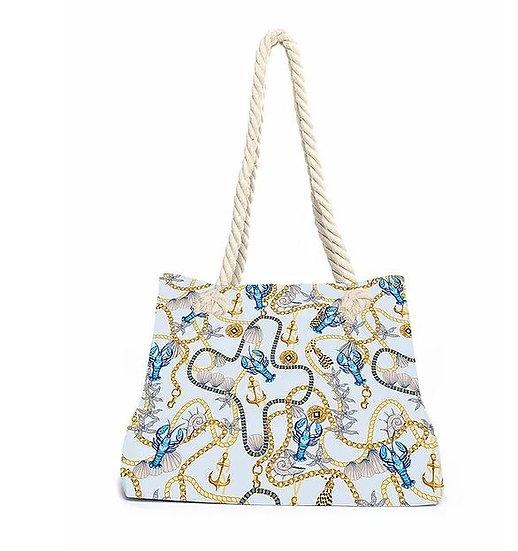 Beachbag '' Blue Lobster'' von Aqua-licious