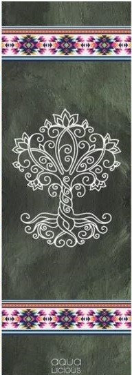 Yogamatte ''Tree of Life'' von Aqua-licious
