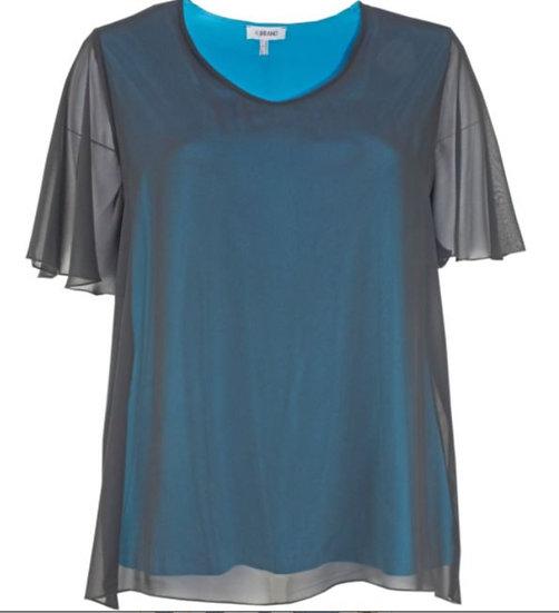 KjBrand Chiffon-Shirt