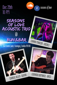 Seasons of love - Dec 29th, 2019 Bun&Bar