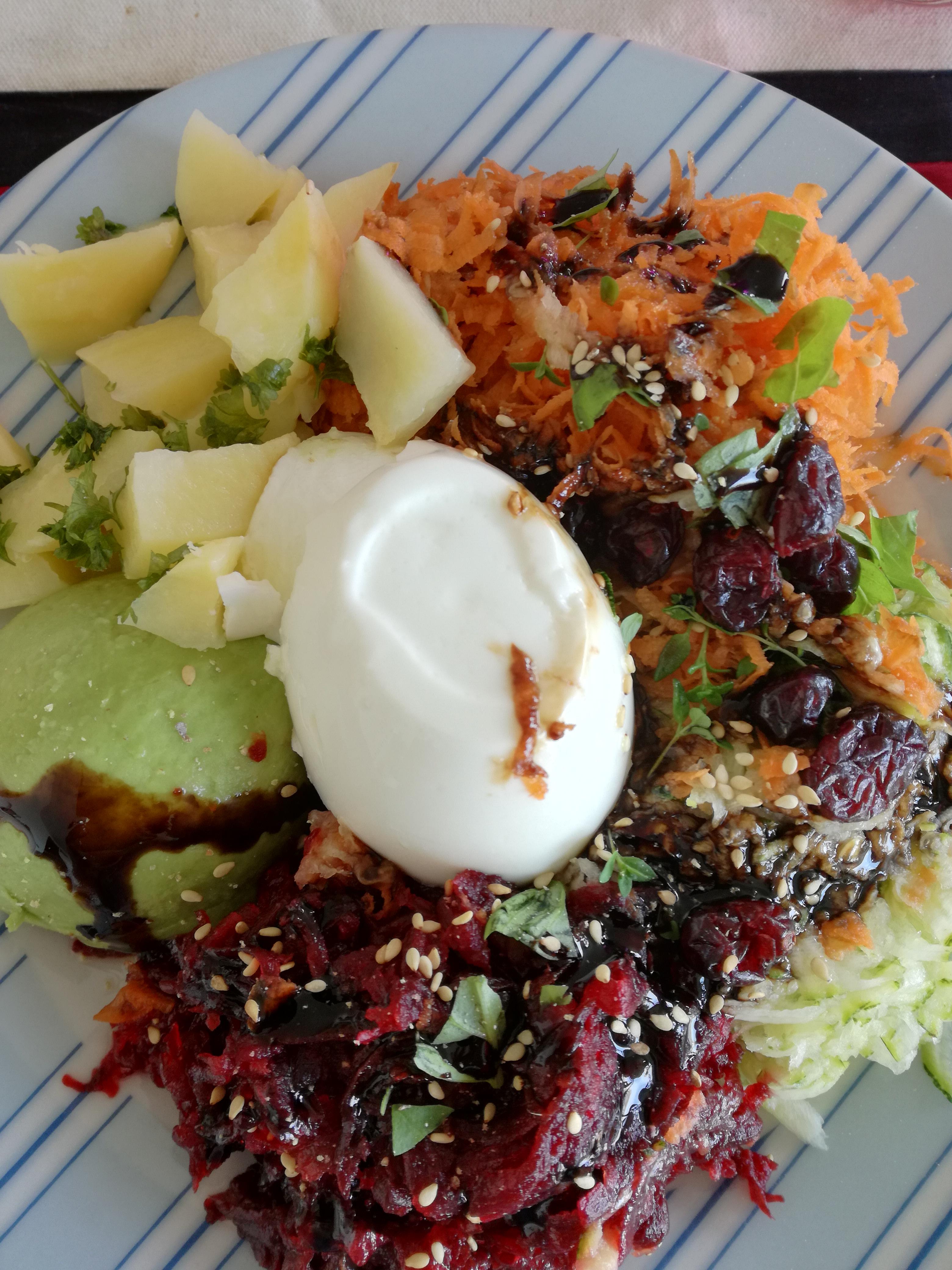 salade et repas quilibr froid rapide facile manger. Black Bedroom Furniture Sets. Home Design Ideas