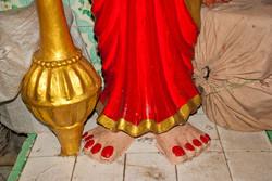 Statue, Hindu Temple, Yangon 2007