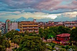 View from Grand Mee Ya Hta Hotel, Yangon 2007