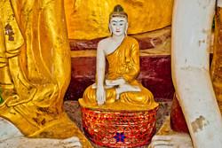 Buddha, Shwedagon Pagoda, Yangon 2010-2