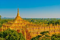 Thanboddhay Pagoda, near Monywa, Myanmar 2007