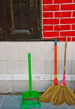 Brooms & Dustpan, Yangon 2008