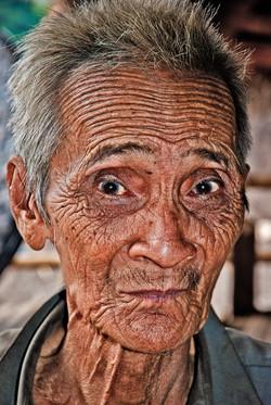 Old Man (Lahu Shi), near Kyaing Taung, Myanmar 2008