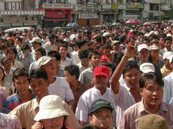 September 2007 Demonstrations, Yangon 2007-2