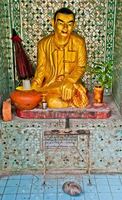 Bo Bo Gyi, Myanmar Nat Figure, Sein Yong Chi Pagoda, Yangon 2007