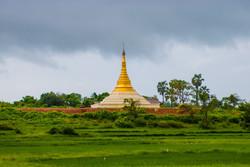 Pagoda, Ngwe Saung Beach, Myanmar 2007