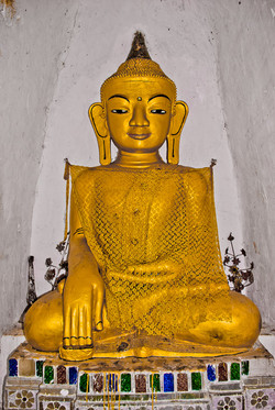 Golden Buddha, Inle Lake, Myanmar 2009